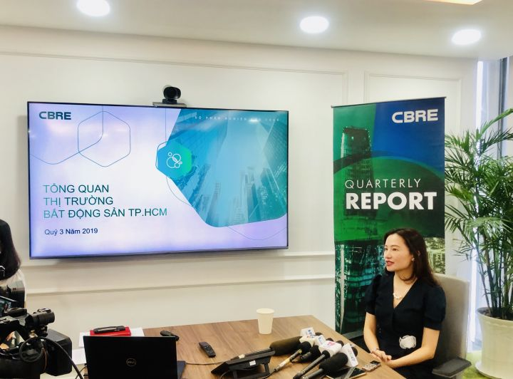CBRE: HCMC posts good condominium consumption in Q3