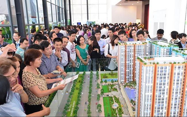 Real estate booms in suburban areas